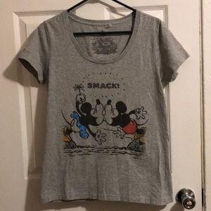 Disney Mickey Minnie Smack! T-Shirt